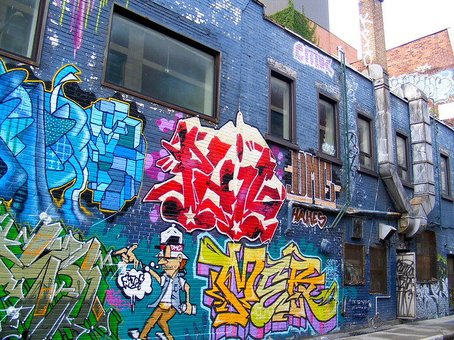 Montreal's Street Art in the East End