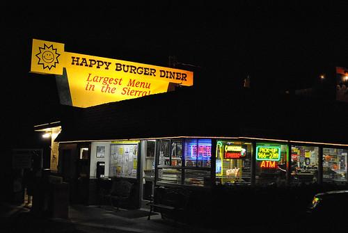 california usa halloween night america photoshop menu happy nikon open darkness burger pumpkins fastfood diner roadtrip sierra yosemite espresso cappuccino mariposa atm burgerjoint chrisshots d3000
