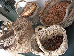 wood, wicker, produce, food, basket,