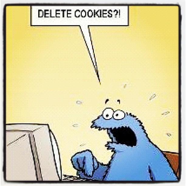 Cookie Monster Delete Cookies Flickr - 117.9KB