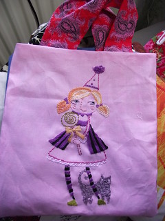 Halloween girl party bag