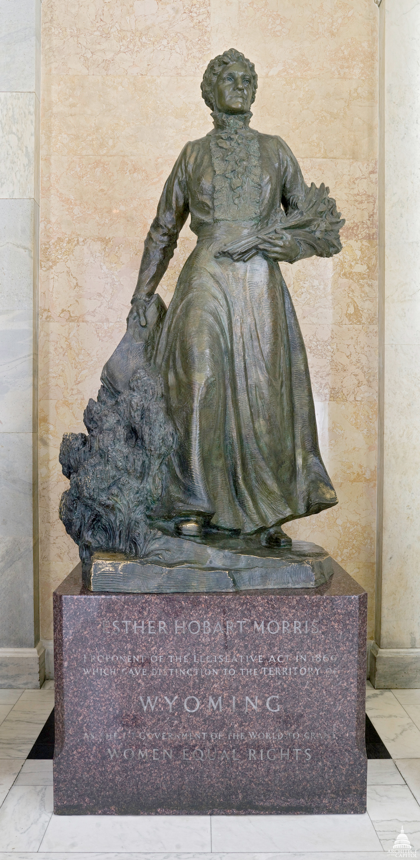 Esther Hobart Morris Architect Of The Capitol United