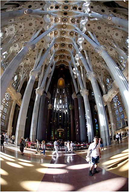 Basílica de la Sagrada Familia.  Flickr - Photo Sharing!