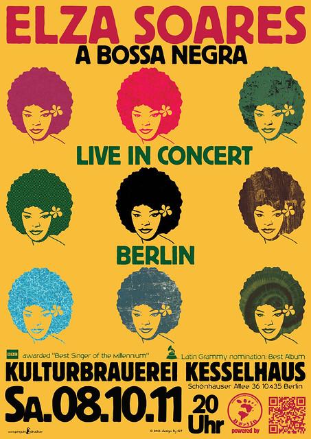 ELZA SOARES LIVE IN CONCERT BERLIN 2011