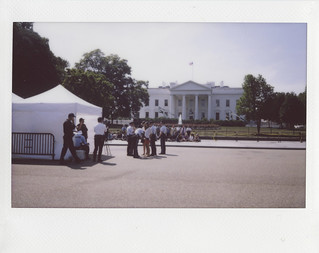 Protesters Under Arrest in Front of the White House