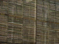 window treatment, pattern, bamboo, brown, line, window covering, window blind,