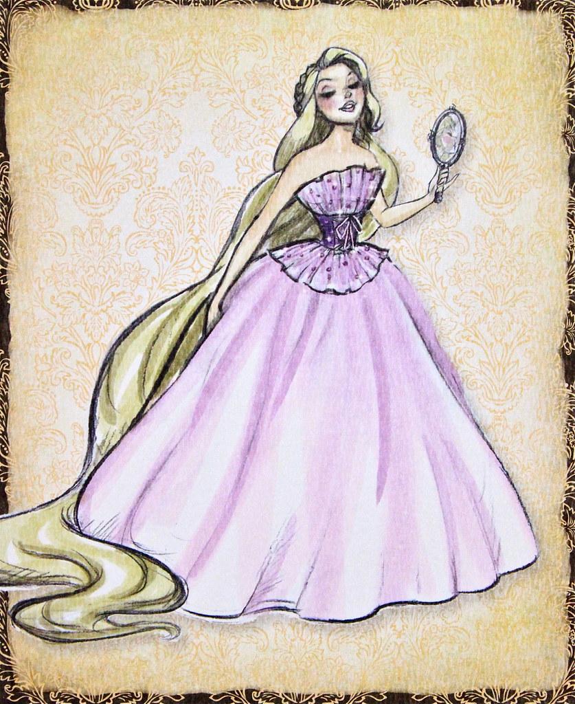 Rapunzel Disney Princess Designer Note Card Collection Hilda