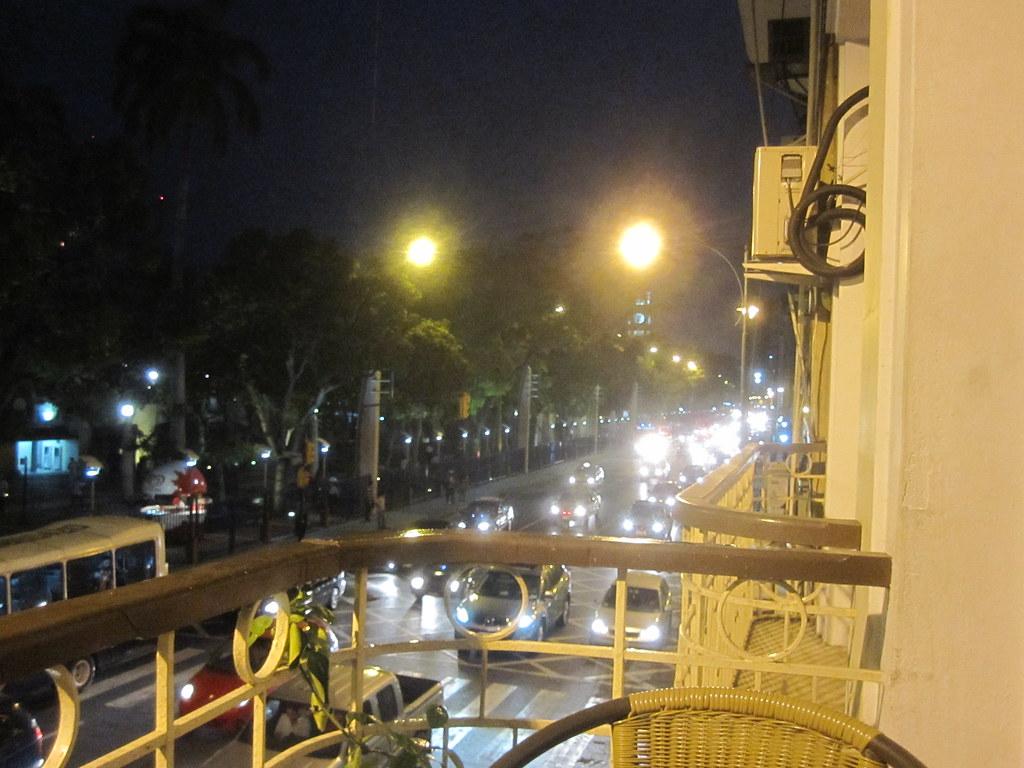 Guayaquil Ecuador Hostel Patio