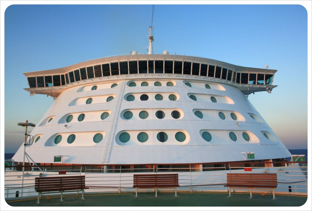 cruise ship front