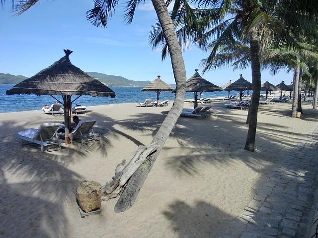 Beach at Evason Ana Mandara Nha Trang
