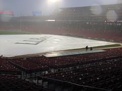 Boston Red Sox vs Oakland Athletics (and Hurricane Irene)