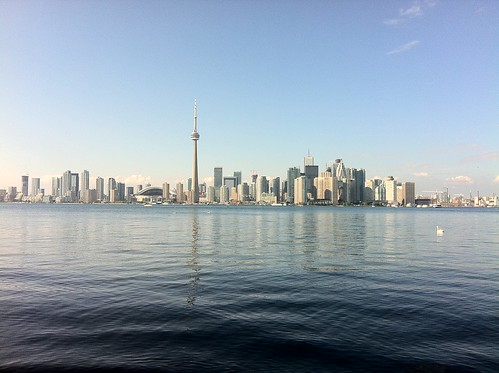 Toronto from Centre Island