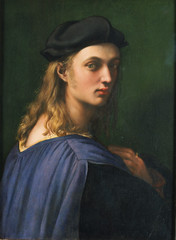 Detail, Portrait of Bindo Altoviti, 1515, by Raffael