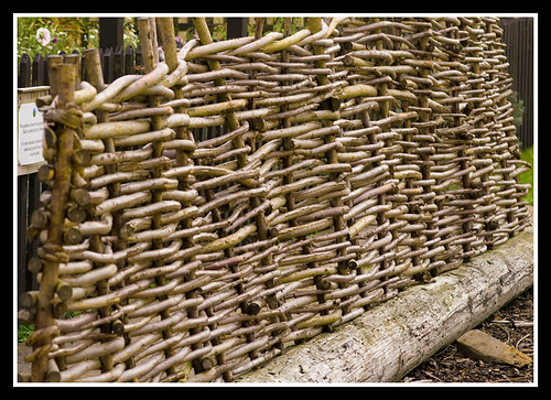 Wattle Fence by Veggiesosage (from his Flickr Stream)