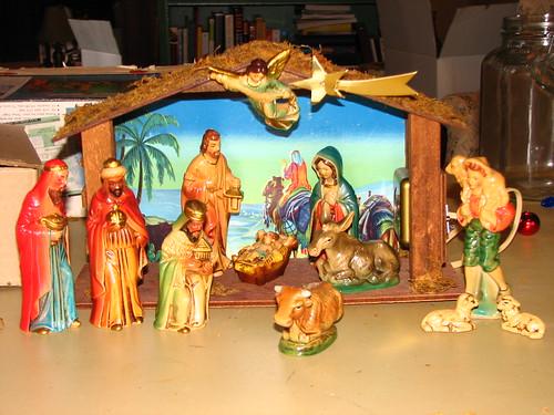 Sears nativity circa 1970