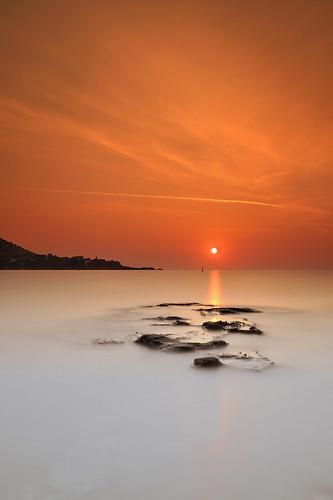 Orange sunrise ~ Cap Esterel ~ Côte d'Azur (French Riviera) ~ France