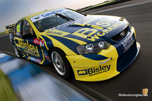 V8 Super Car - Sieders Racing Team's 'Bisley Workwear' Ford Falcon