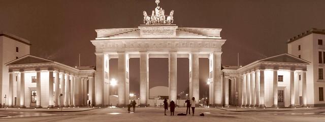 Brandenburgertor sepia