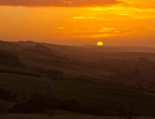 sunrise abbotsbury pentaxkx lymeregis2011