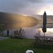 Sunset from The Strontian Hotel, Loch Sunart by laugh a minute