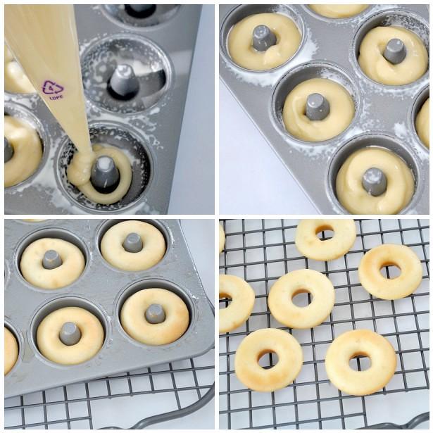 Gluten free doughnuts - steps 13-16