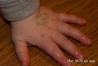 will hand