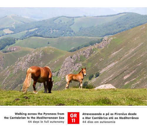 trekking spain caminhada pyrenees navarre gr11 pireneus aurizberri
