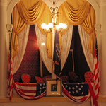 Fords Theatre - Presidential Box - from across the theatre