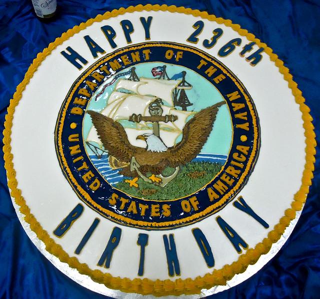 Navy Birthday Cake Cutting Ceremony Script