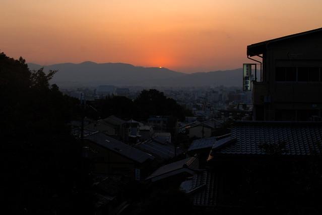 Kyoto - Sunset