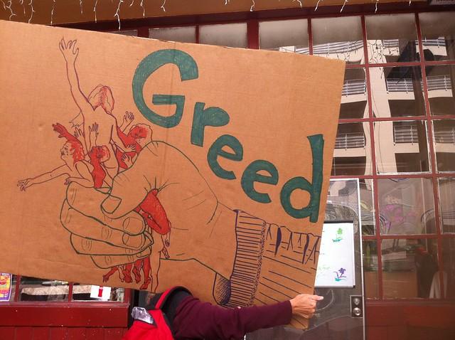 Greed!