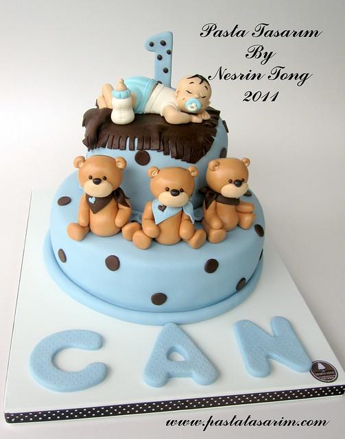 Birthday Cake Design Baby Boy : 01.10.2011 - 01.11.2011 ~ PASTA TASARIM