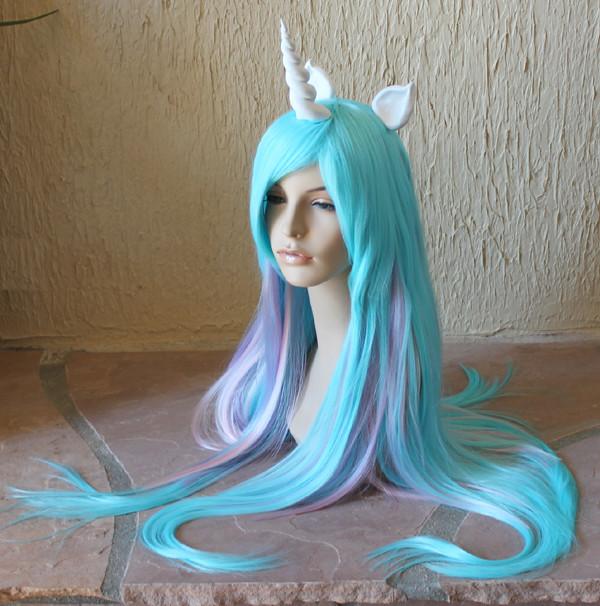 Princess Celestia cosplay wig | Princess Celestia cosplay ...