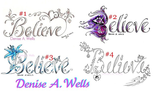 believe tattoos