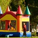 Small photo of Jumping house at Almaden Lake