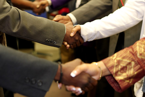 Handshake - Hard Times