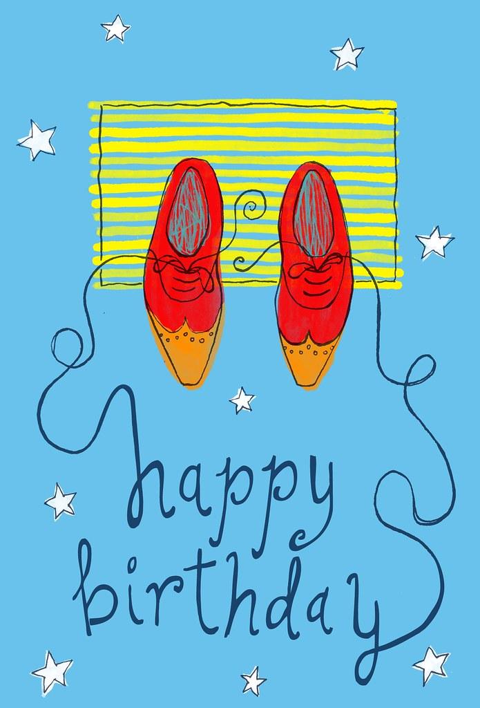 Happy Birthday Shoes
