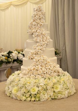 Tier Wedding Cakes Sizes