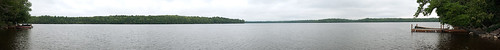 panorama landscape pano maine panoramic longlake longlakecamps princetonme fishoutofwater2011