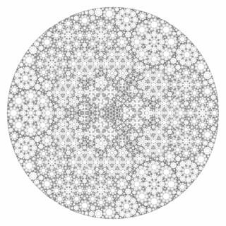 Progressive Recursive Apollonian Gasket