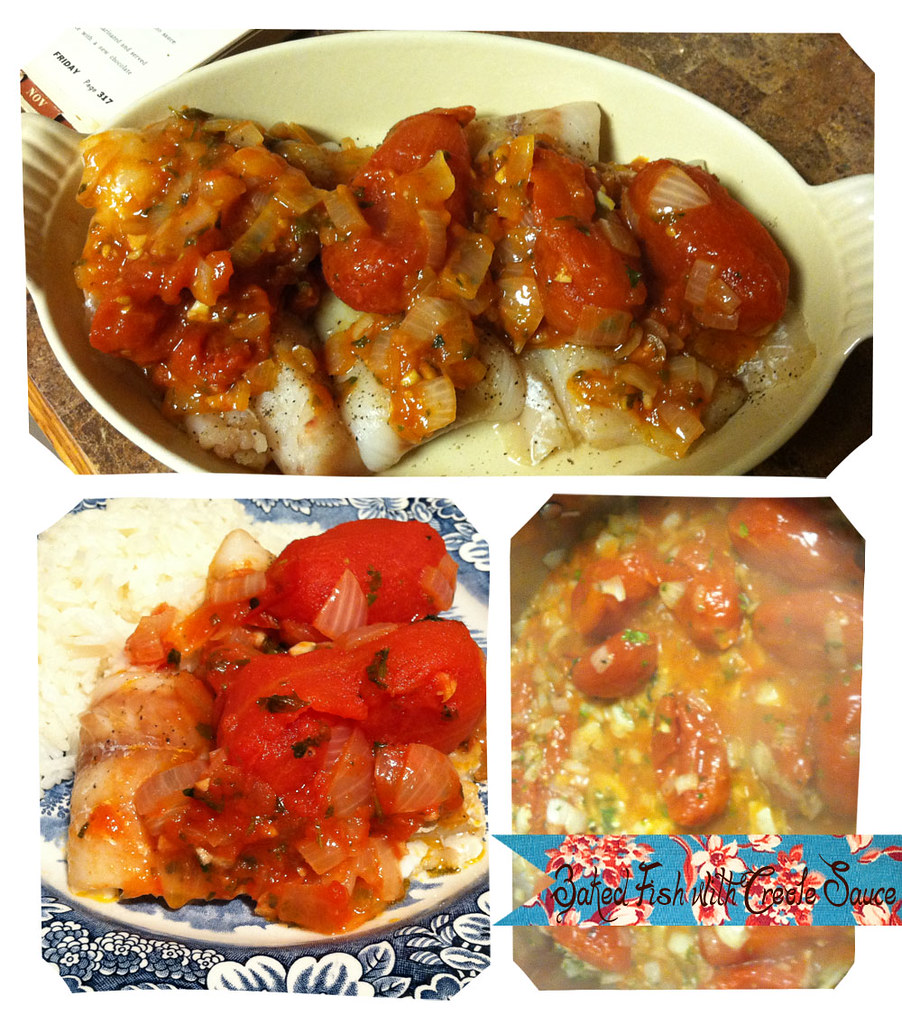 The past on a plate vintage recipe thursday baked fish for Baked fish recipe with sauce