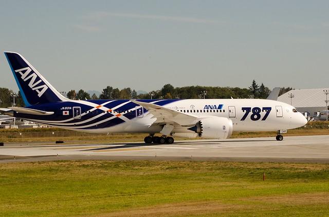 ANA JA-801A BOE101 Heavy B787 Dreamliner