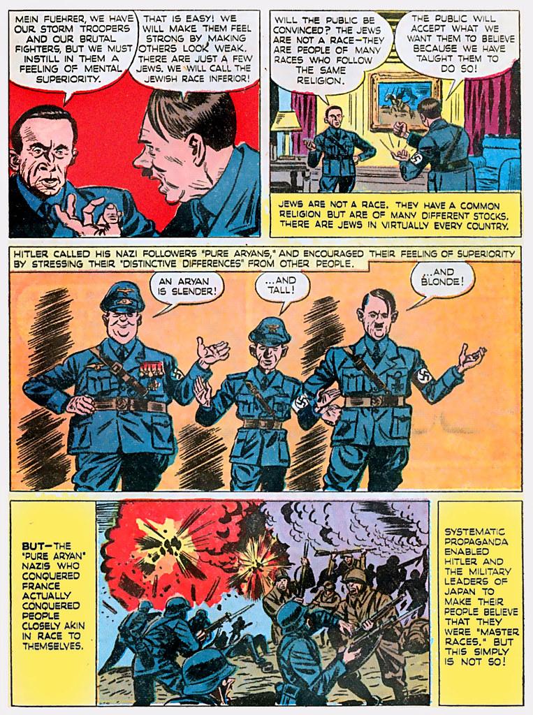 1944 ... master race comics!