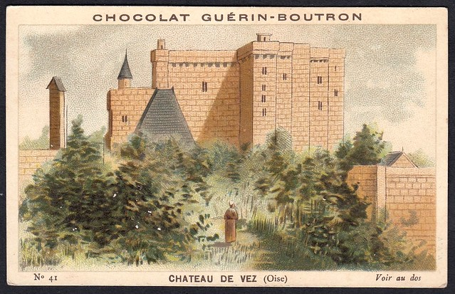 French Tradecard - Chateau de Vez