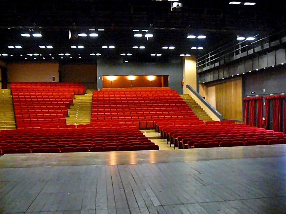 vista dal palco