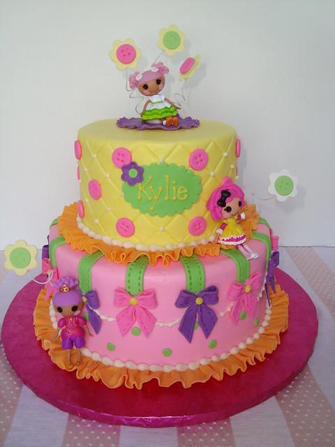Lalaloopsy Cake  Flickr - Photo Sharing!