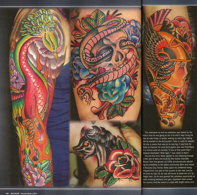 0Rder Savage Tattoo Magazine 2007