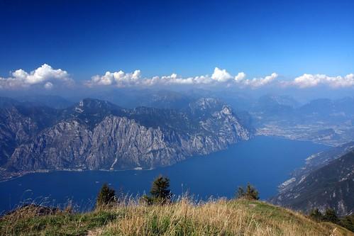 Lake Garda from Monte Baldo, Malcesine, Italy