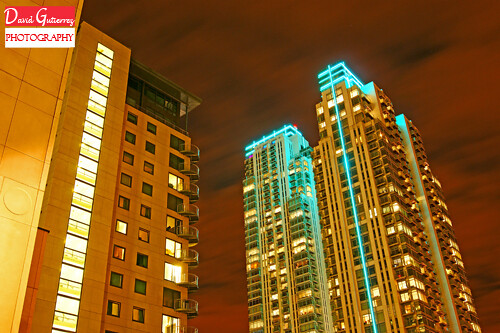 London Night Towers