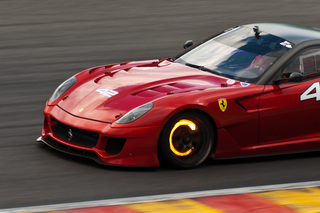 Ferrari 599XX at Spa Francorchamps